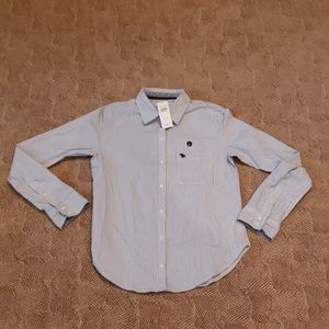 NWT Abercrombie & Fitch Button Down Shirt S